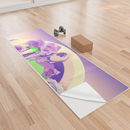 Ultra Extra Violet Yoga Towel