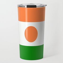 Flag of Niger Travel Mug