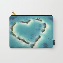 Heart Island Carry-All Pouch