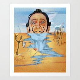 The Persistence of Dali Art Print