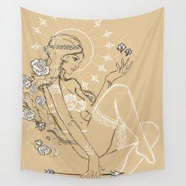 Nature Goddess Wall Tapestry