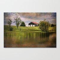 kentucky Canvas Prints featuring Kentucky CountrySide by ThePhotoGuyDarren