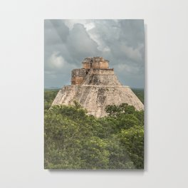 Rising From The Jungle Metal Print