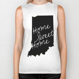 Indiana Home Sweet Home Biker Tank