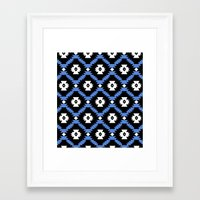 navajo Framed Art Prints featuring Navajo by Emma Mazur