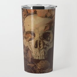 Catacomb Culture - Human Skull Forest Travel Mug