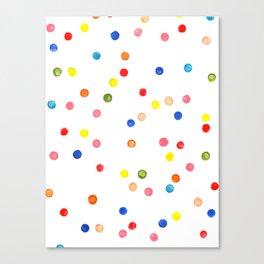 CONFETTI SPREE Canvas Print