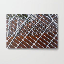 Iron entrance Metal Print