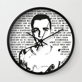 Trainspotting Wall Clock