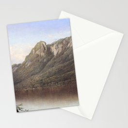 Eagle Cliff Franconia Notch New Hampshire 1864 By David Johnson   Reproduction   Romanticism Landsca Stationery Cards
