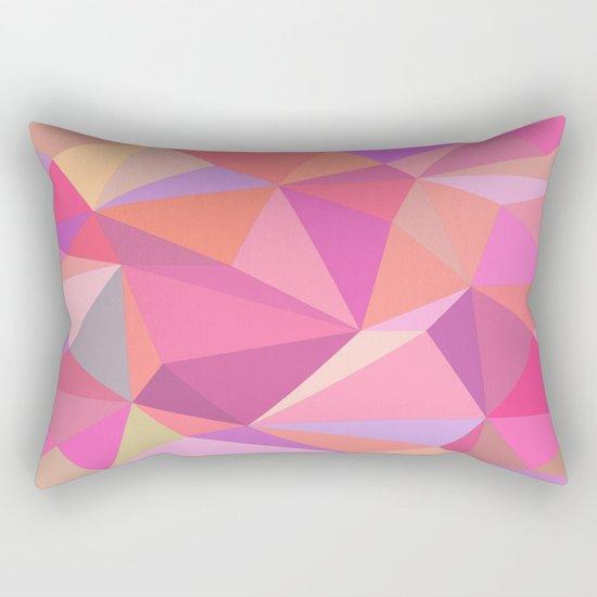 Triangle abstract Rectangular Pillow