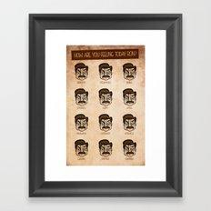 Ron Swanson 5 Framed Art Print