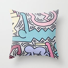 Tuttomondo Throw Pillow