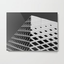 BnW Architecture Metal Print