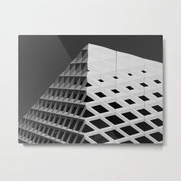 BnW Architecture Metal Print