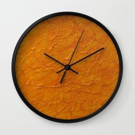 Waves of Indian Summer Wall Clock