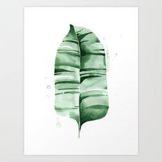 Banana Leaf no.7 Art Print