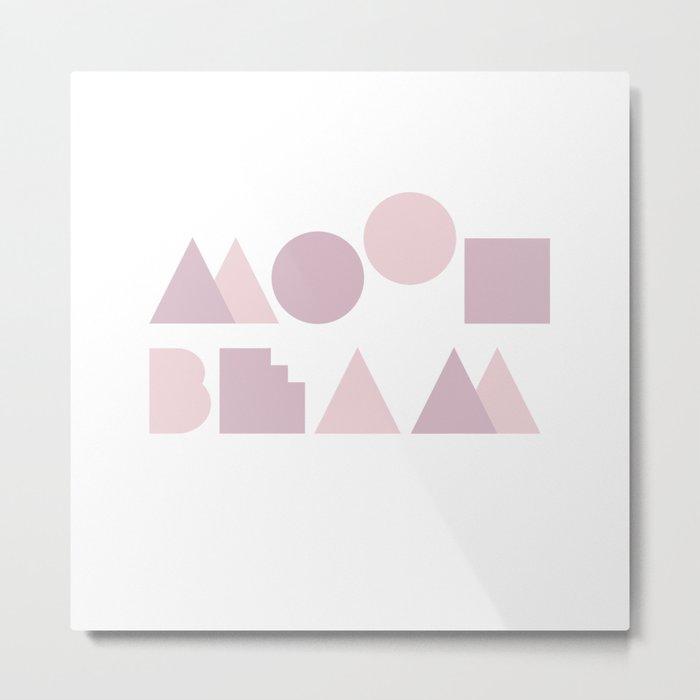 Moon Beam Metal Print