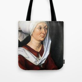 Portrait of Barbara by Albrecht Dürer Tote Bag