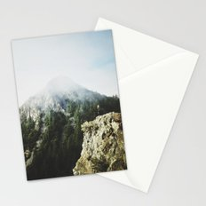 She saw the mountain mist Stationery Cards