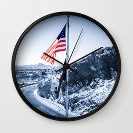 El Paso Scenic Drive Wall Clock
