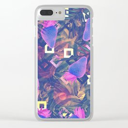 Fluorescent Vibe Clear iPhone Case