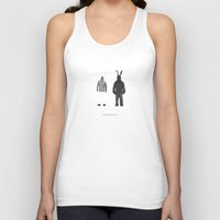 donnie darko Tank Tops featuring Donnie Darko by Alyn Spiller