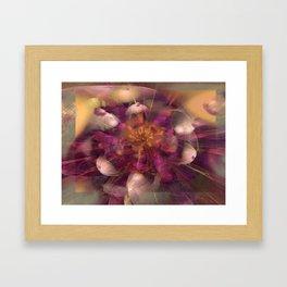 Beauty Explodes Framed Art Print