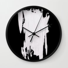 Barely Standing Wall Clock