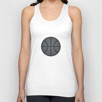 basketball Tank Tops featuring BASKETBALL- basketball by Raisya