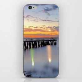 Wellington Point Jetty Sunrise iPhone Skin