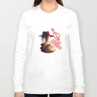 nick cave Long Sleeve T-shirts featuring Nick by Ioana Muresan