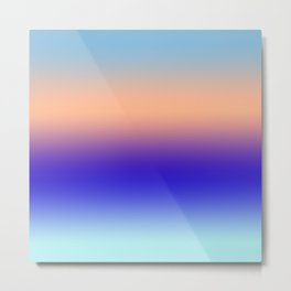 Color Fade 2 Metal Print