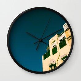 Los tejados (roofs) Wall Clock