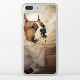 American Staffordshire Terrier - Amstaff Clear iPhone Case