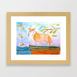 Collie2 Framed Art Print