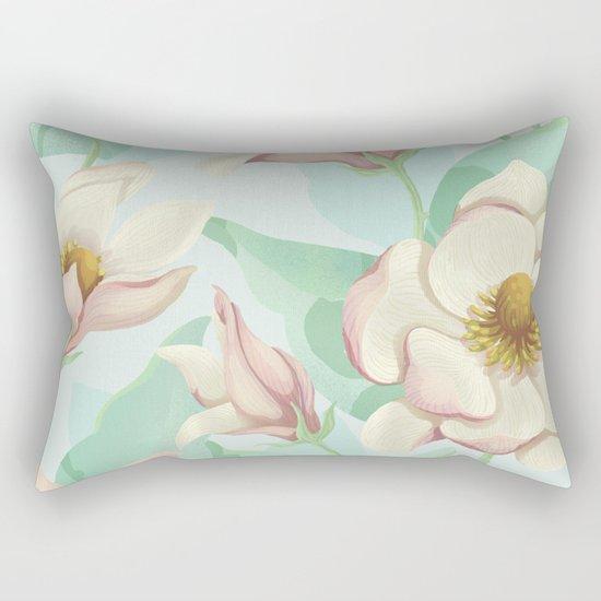 magnolia bloom - fairy version Rectangular Pillow