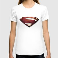 man of steel T-shirts featuring Man of Steel by Fortale