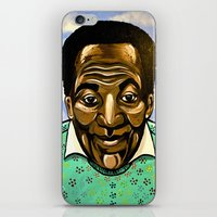 bill iPhone & iPod Skins featuring Bill Cosby by Portraits on the Periphery