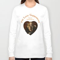fili Long Sleeve T-shirts featuring Fili Love Supporter by wolfanita