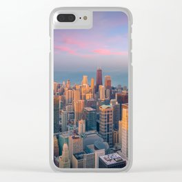 Chicago 03 - USA Clear iPhone Case