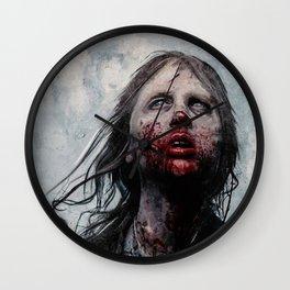 The Lone Wandering Walker - The Walking Dead Wall Clock
