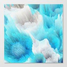 Cold World Canvas Print