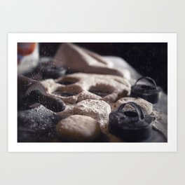 Baking Biscuits art for your kitchen Art Print