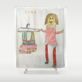 Ballet Time for Dona Shower Curtain