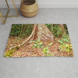 A firm grip on mother earth Rug