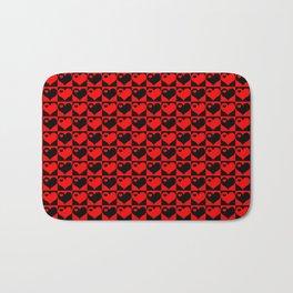 Hearts Love Collage Bath Mat