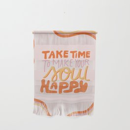 Happy Soul Wall Hanging