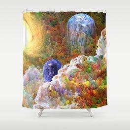 Luminosus Shower Curtain