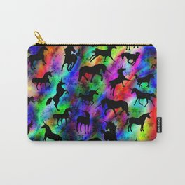 Abstract tie-dye unicorn pattern Carry-All Pouch